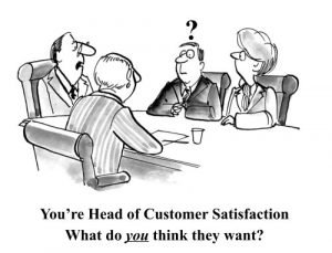 Beyond strategy - what do your customers want