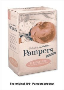 Next level performance - P&G original Pampers